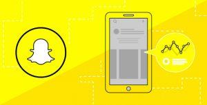 Illustration of Snapchat image and data