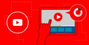 Illustration of Youtube video and data
